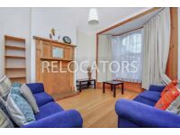 LARGE FOUR BEDROOM HOUSE WITH RECEPTION AND LARGE KITCHEN DINER MOMENTS FROM THE TUBE