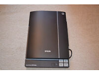 EPSON - V370 Perfection Flatbed Scanner - scans slides, photos and negatives