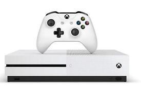 New In box Xbox 1 slim 1tb in white