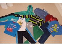 Bundle of clothes for boys (3-4 years)