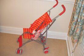 Push chair NEW, Foldaway,