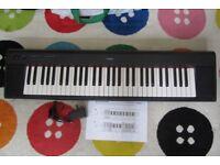 Yamaha NP-11 Portable Piano Keyboard + Power Supply