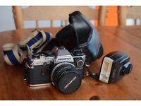 Olympus OM10 35mm SLR Camera