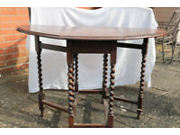 Oak Gate Legged Table