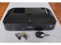 Canon Pixma A3 printer with 2 spare black ink cartridges