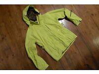 WESTBEACH Classic Snowboard Ski Jacket, Ladies Medium, Snow Coat, Celery Lime Green