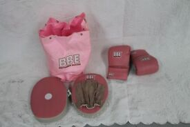 BBE Britannia Boxing Set - Pink