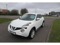 NISSAN JUKE 1.5 ACENTA PREMIUM DCi,2014,Sat Nav,A/Con,Cruise Control,Reverse Cam,Full Nissan History