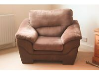 Brown armchair for sale