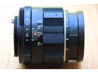 Superb Pentax Asahi Macro Takumar 50mm F4 SMC lens **£75 ono**