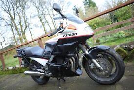 Yamaha FJ1200 Motorcycle Tourer, 1991, 1188 (cc)