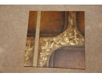 Gold and Brown Wall Art