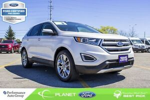 2015 Ford Edge Titanium FORD CERTIFIED LOW RATES & EXTRA WARRANT