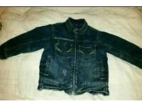 Next padded denim jacket age 2-3 years