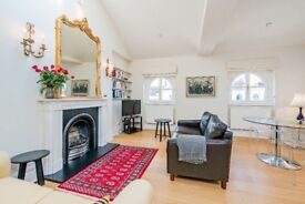 A charming top floor one bedroom apartment moments from Notting Hill