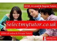 GCSE/Primary/Teacher/A-Level English Tutors at Select My Tutor-Over 10,000 Qualified Tutors