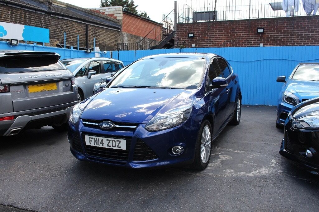2014 Ford Focus 1.0 EcoBoost Turbo SCTi Manual