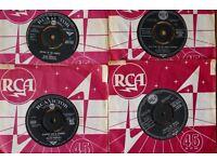 """Elvis Presley 7"""" vinyls - open to offers"""