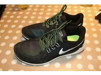 Nike free 5.0 Repel h20 Size 4.t