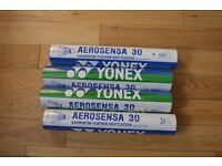 4 New tubes of Yonex AS 30 speed 3