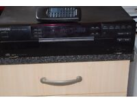 KENWOOD 5 CDS PLAYER WITH REMOTE