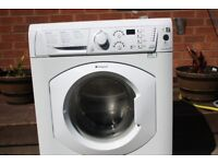 HOTPOINT 7KG WASHING MACHINE IN GOOD CLEAN WORKING ORDER 3 MONTH WARRANTY & PAT TESTED