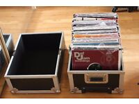 KAMKASE Record Box/Flight Case (V. Good Condition) INC. 140+ RnB & Hip Hop Records! (1998 - 2008)