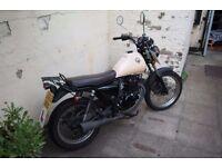 Sinnis Trackstar 125cc Motorbike