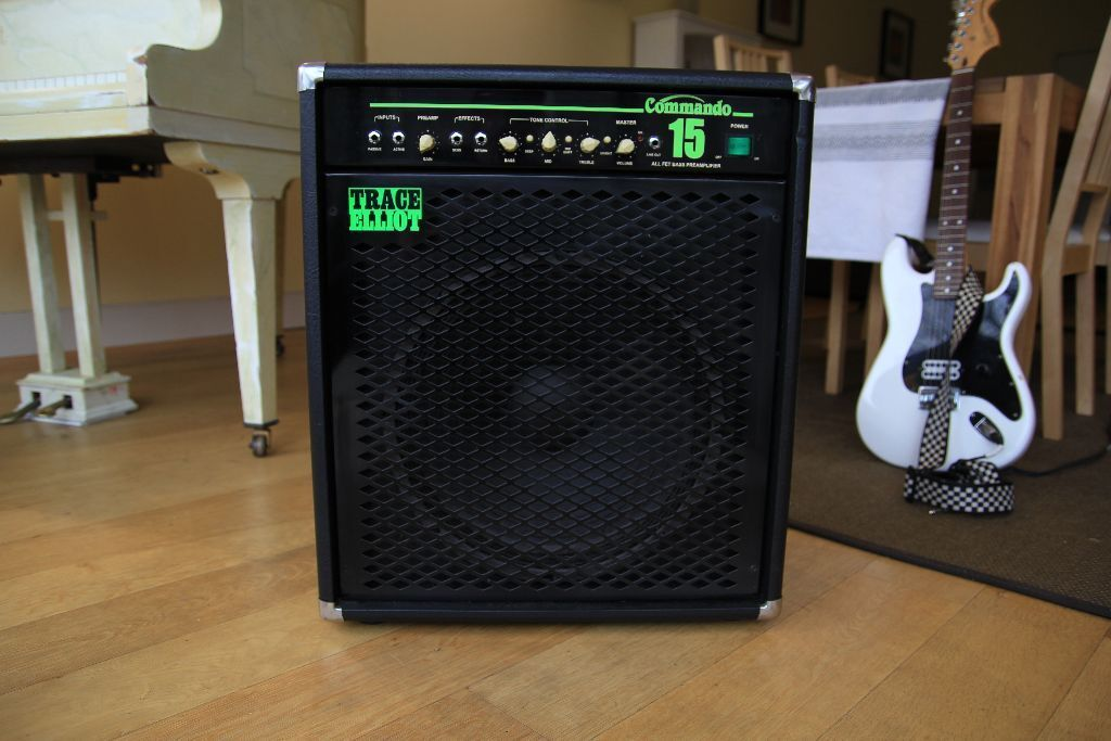 trace elliot combo bass amp 150w commando mk2 in acton london gumtree. Black Bedroom Furniture Sets. Home Design Ideas