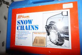 Mason Snow Chains, size Large (TK 336), used