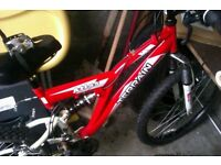 Second hand mountain bike for sale in good condition.
