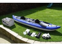 Aquaglide Chinook 3 Person Inflatable Kayak for Sale