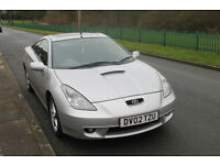 Toyota Celica 1.8 VVTI (2002) On;y 2 owners from new Full Toyota Service History