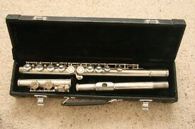 Yamaha 211S Silver plated Flute which has just been restored