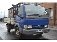 Nissan Cabstar Pick up Dropside truck 3.0 diesel
