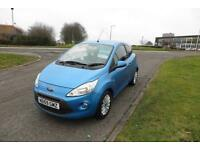FORD KA 1.2 ZETEC,2009, Low Miles,Alloys,Air Con,Heated Screen,£30R/Tax,Ins Group 3,Returns 55mpg