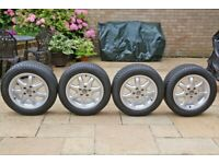 VW Tyres and Rims (Set of 4)