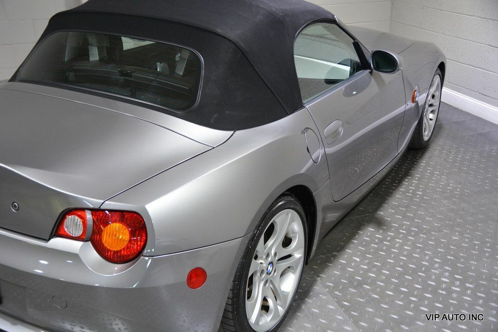 2003 BMW Z4, Sterling Gray Metallic with 45,685 Miles available now!