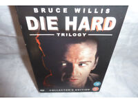 Bruce Willis Die Hard Trilogy DVD Collectors edition BoxSet with the first 3 movies. 367 mins long