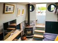 Stunning houseboat with contemporary interior and east London residential mooring