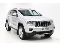 Jeep Grand Cherokee V6 CRD OVERLAND (silver) 2012-01-04