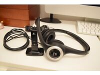 Logitech ClearChat Wireless Headset/Headphones - Gaming, Movies and Music