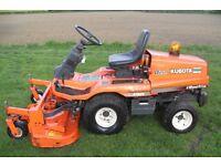 Kubota diesel rotary mower.