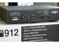 NAD 912 Power amplifier. NAD have been one of the top HI-FI star manufacturers for many years.