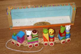 Animal Puzzle Train (Orange Tree) – Including original display box.
