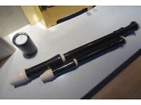 Collection of RECORDERS - 4 descant and 1 treble