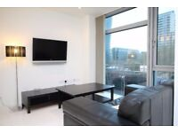 Modern studio apartment in Pan Peninsula's West Tower - Gym - Pool - Canary Wharf South Quay E14 JS