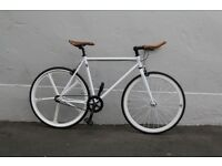 Christmas sale!!! Steel Frame Single speed road bike track bike fixed gear racing fixie bicycle q