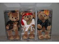 Jimi Hendrix Beanie Bears