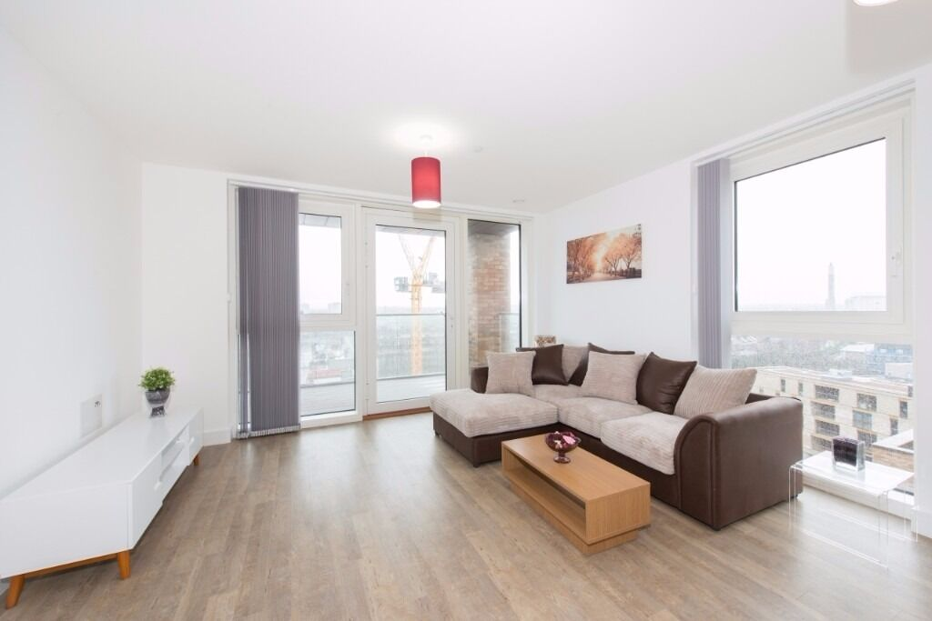 STYLISH 2 BED 2 BATH APARTMENT W/ PARKING IN GREENLAND PLACE, SURREY QUAYS/CANADA WATER SE8 SE16